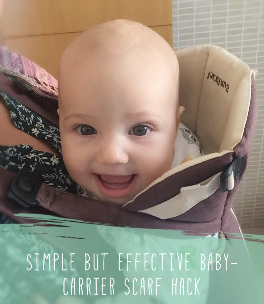 Simple But Effective Baby Carrier Scarf Hack Mumming Around